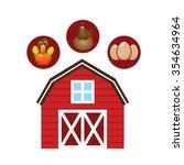 farm fresh design  vector...   Shutterstock .eps vector #354634964