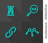 vector flat icons   objects