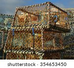 Lobster Pots On The Quayside I...