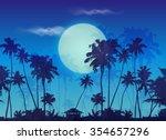 Big Blue Moon Twilight With...