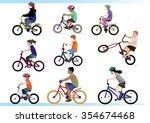 kid bikers. have fun