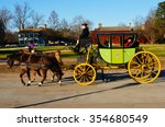 Horse And Carriage In...
