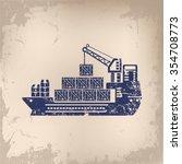 Cargo  Container Ship Design On ...