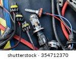 set of spare car bulbs   Shutterstock . vector #354712370