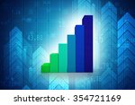 business graph | Shutterstock . vector #354721169
