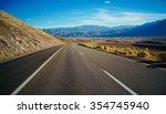 u.s. highway 395 | Shutterstock . vector #354745940