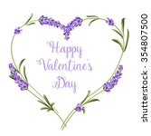 Hearts Of Lavender Flowers...
