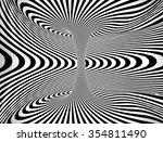 abstract spiral circle black... | Shutterstock . vector #354811490