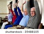 seniors exercising | Shutterstock . vector #35488105