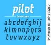 Pilot  Modern Aviator Font...
