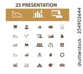 presentation  chart  diagram ... | Shutterstock .eps vector #354903644