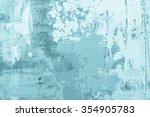 hand drawn oil painting.... | Shutterstock . vector #354905783