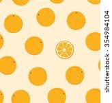 ripe fruit on a plain pattern.... | Shutterstock .eps vector #354984104