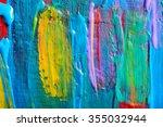 abstract art backgrounds. hand... | Shutterstock . vector #355032944