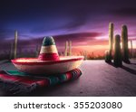 "mexican hat ""sombrero"" on a ... 
