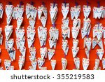 kyoto   nov 4   fushimi inari... | Shutterstock . vector #355219583
