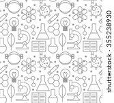 science pattern | Shutterstock .eps vector #355238930