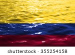 flag of colombia   Shutterstock . vector #355254158