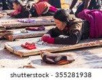 sichuan  china   nov 12 2015 ...   Shutterstock . vector #355281938