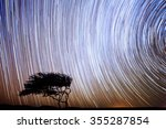 star trek in the night sky | Shutterstock . vector #355287854