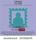 picture symbol | Shutterstock .eps vector #355308299