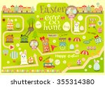 Easter Invitation Card. Easter...