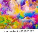 colors of imagination series.... | Shutterstock . vector #355331528