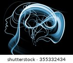 human tangents series. backdrop ... | Shutterstock . vector #355332434