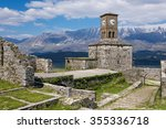 Small photo of View of the Gjirokaster Castle in Albania
