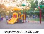 abstract blur children... | Shutterstock . vector #355379684