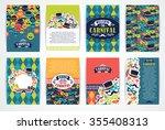 celebration festive background... | Shutterstock .eps vector #355408313