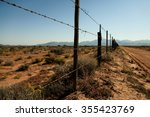 Arizona Fence On A Beautiful...