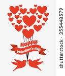 love card design  vector... | Shutterstock .eps vector #355448579