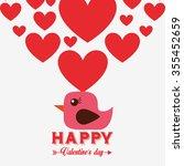 love card design  vector... | Shutterstock .eps vector #355452659