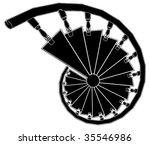 Spiral Staircase Vector 02