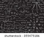 physical vector seamless... | Shutterstock .eps vector #355475186