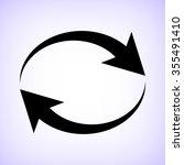 reload    black vector icon