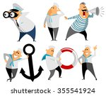 vector illustration of a six... | Shutterstock .eps vector #355541924