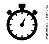 stopwatch   stop watch timer... | Shutterstock .eps vector #355549769
