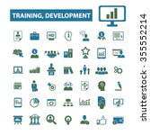 training development  business... | Shutterstock .eps vector #355552214