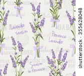 seamless pattern of lavender... | Shutterstock .eps vector #355628048