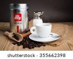trieste  italy   december 07 ... | Shutterstock . vector #355662398