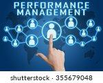 performance management concept... | Shutterstock . vector #355679048