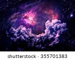 dreamscape galaxy   elements of ... | Shutterstock . vector #355701383