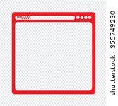 browser icon illustration...