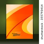 stylish presentation of... | Shutterstock .eps vector #355793414