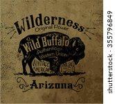 Vintage Western Label Design...