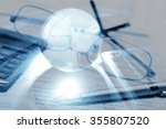 finance. | Shutterstock . vector #355807520