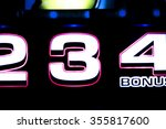 one arm bandit slot machine... | Shutterstock . vector #355817600