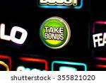 one arm bandit slot machine in... | Shutterstock . vector #355821020